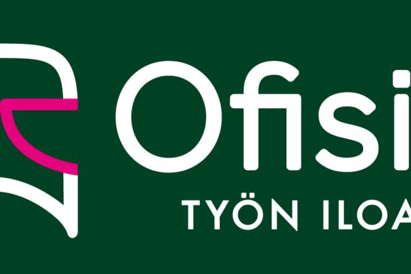 ofisio_logo_slogan_vihrea_pohja